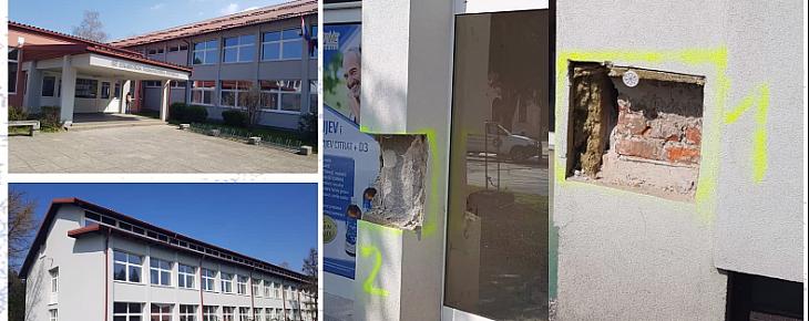 Petrinja 2020. - pregled zgrade nakon potresa