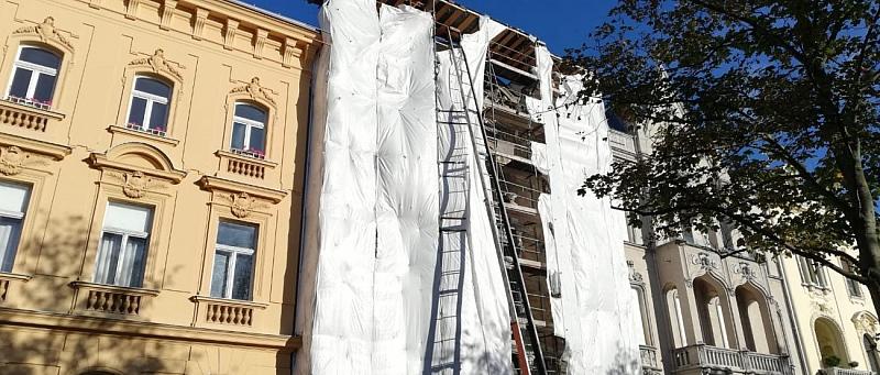 zgrada u obnovi