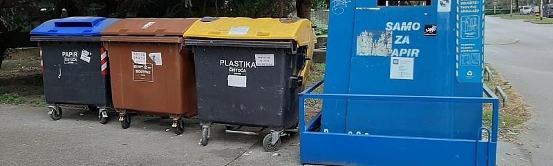 Zbog neodgovornih građana zagrebačka Čistoća neće prazniti smeđe kante