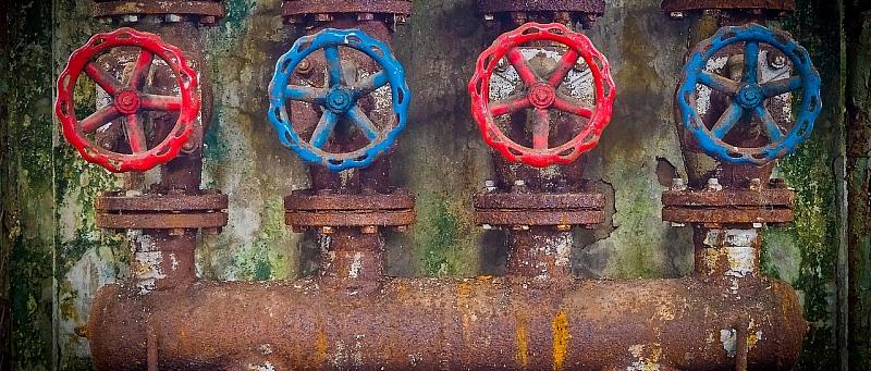 stari ventili, cijevi