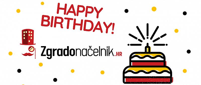 Logo torta rođendan